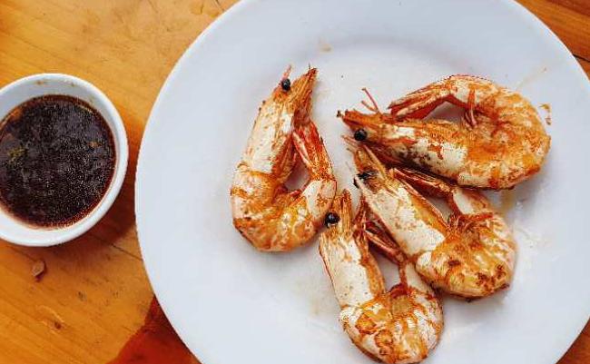 万博竞彩客户端下载万博体育下载网站去三亚 煎虾很好吃